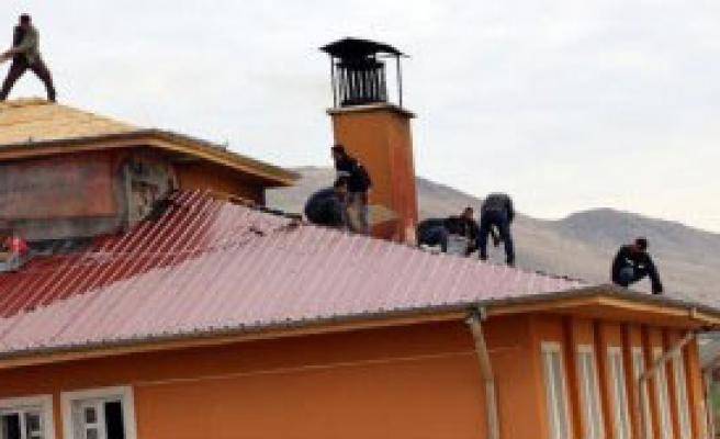 Silvan'da Okullarda Onarım Başladı