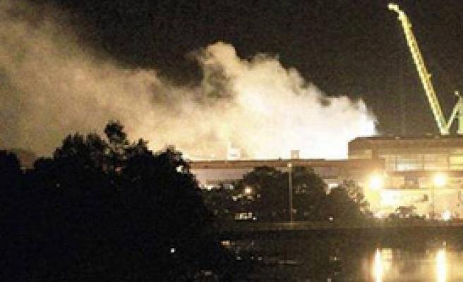 ABD'de Nükleer Denizaltında Yangın