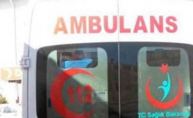 112 Ambulansına 5 El Ateş Açıldı