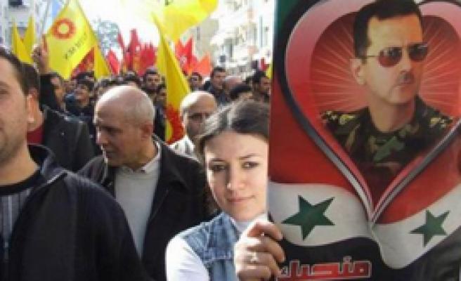 Esad Yandaşlarına Sert Müdahale