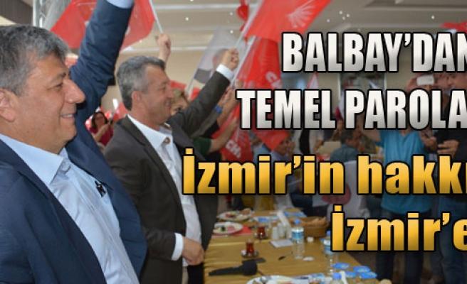 'İzmir Cumhuriyet'in Kalesidir'