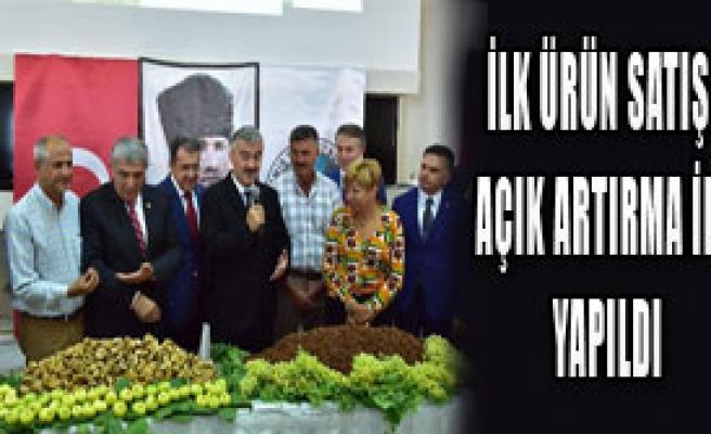 İzmir Ticaret Borsası'nda İlk Ürün Töreni