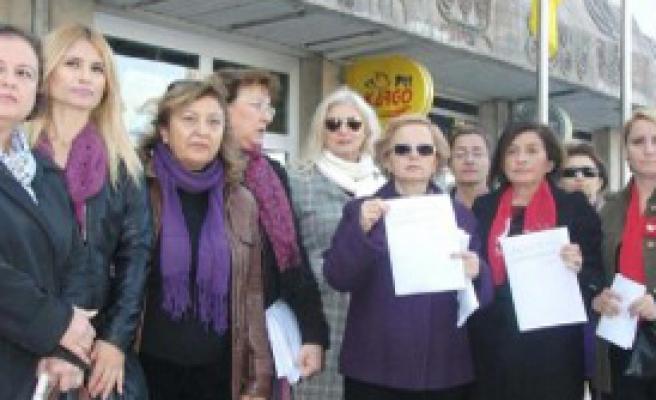 CHP'li Kadınlardan AK Partili Milletvekillerine Telgraf