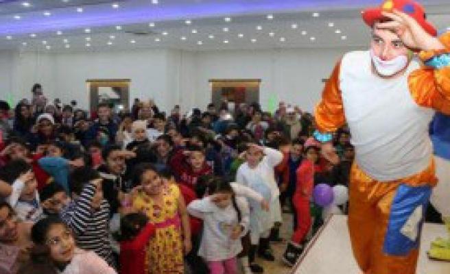 Çankırı'da Mülteci Çocuklar Eğlendi