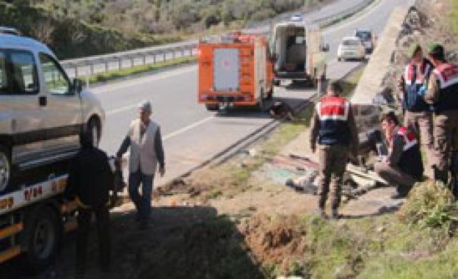 Aydın'da Kaza: 1 Ölü, 4 Yaralı!