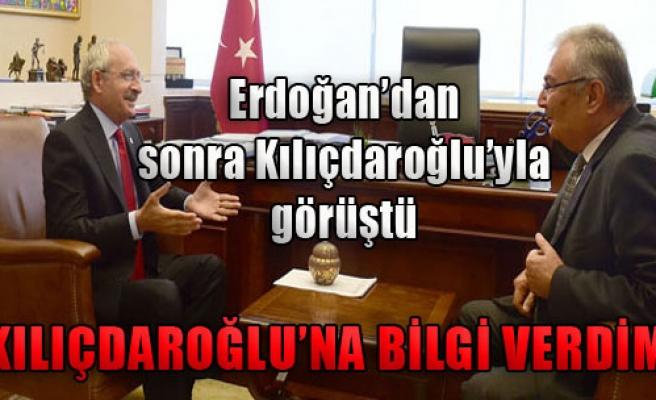 Kılıçdaroğlu, Baykal'la Görüştü