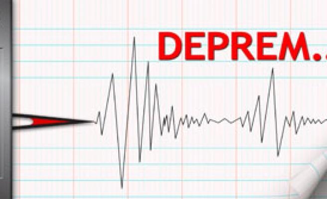 Van'da 4.8 Büyüklüğünde Deprem