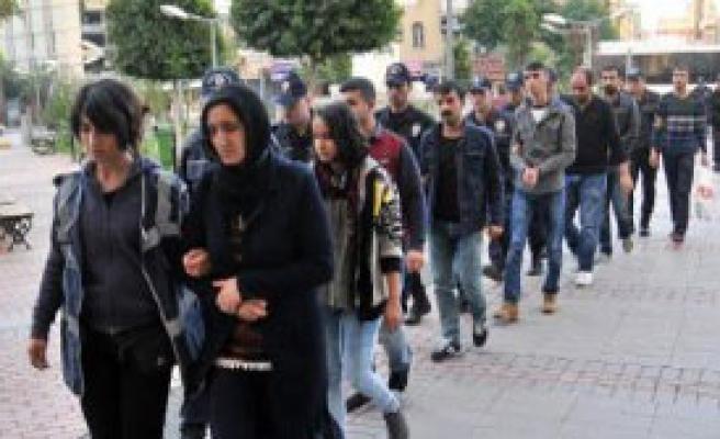 PKK Operasyonu: 22 Gözaltı