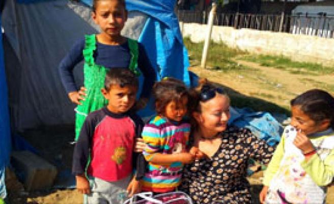 Suriyeli Çocuklar Soğukta Hastalanıyor