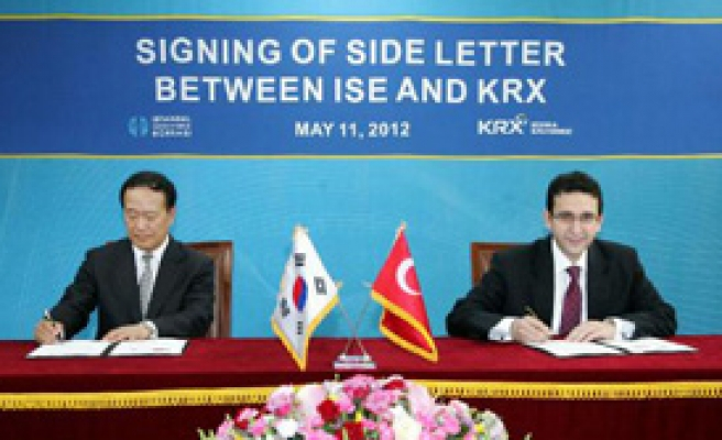 İMKB, Kore Borsası İle İşbirliği Protokolü İmzaladı