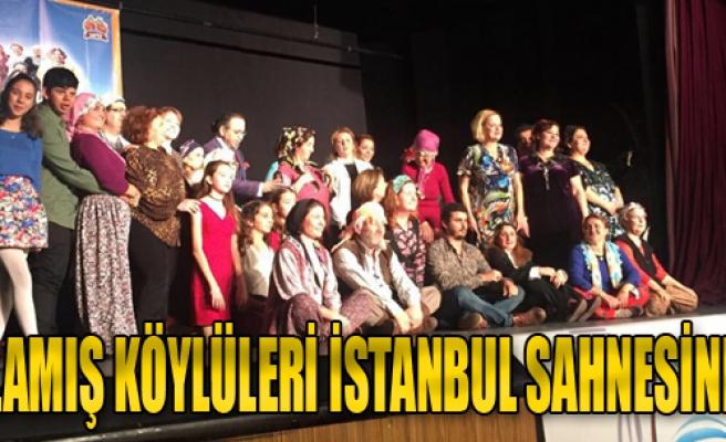 Ulamış Köylüleri İstanbul'da Sahnede