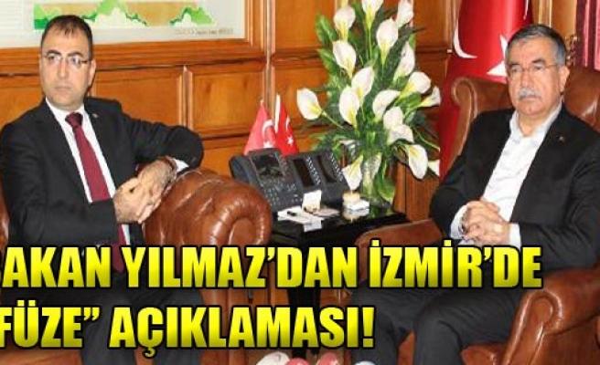 Bakan Yılmaz İzmir'de!