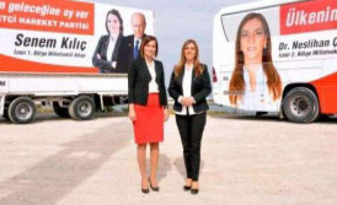 MHP'li Kadın Adaylardan İddialı Çıkış