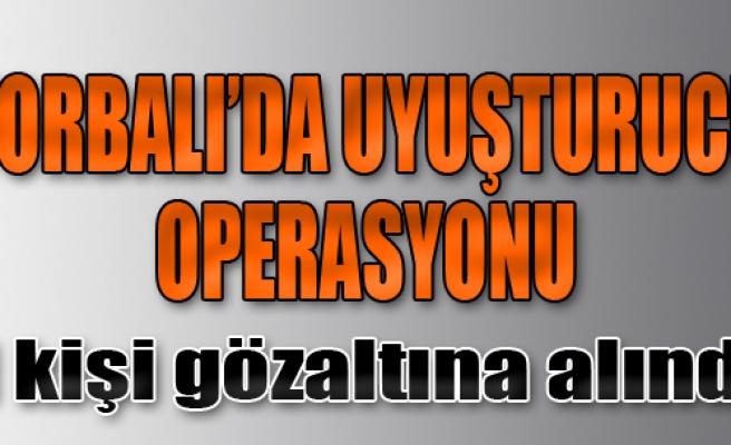 Torbalı'da Uyuşturucu Operasyonuna 1 Gözaltı