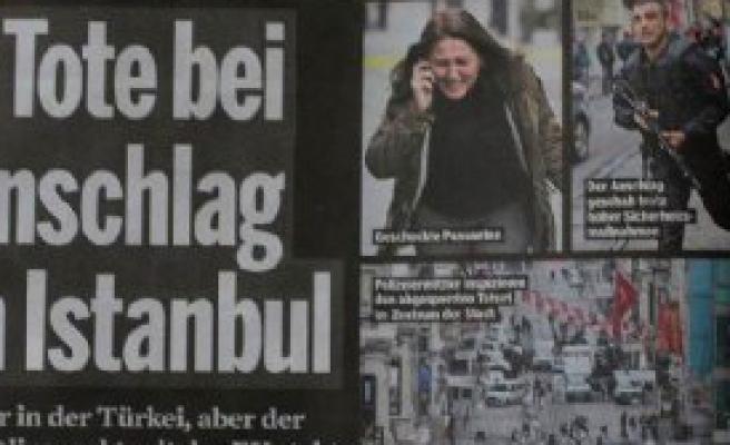 İstanbul'daki Saldırı Avrupa Basınında