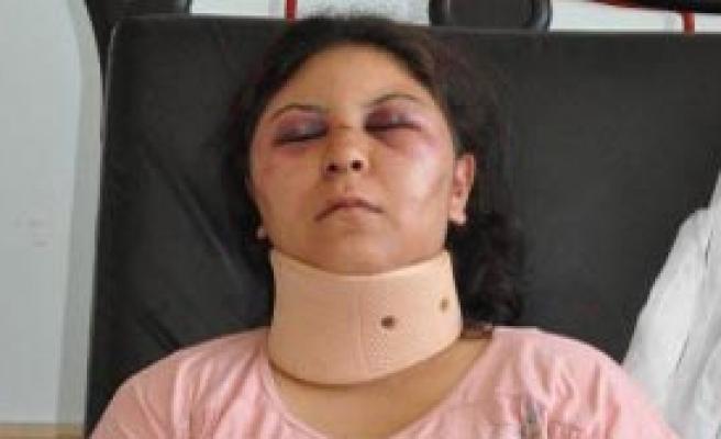 Yerköy'de Koca Dayağı Hastanelik Etti
