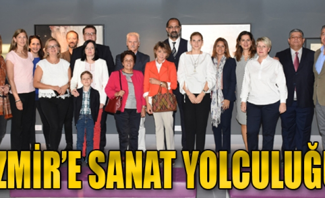 İzmir'e Sanat Yolculuğu