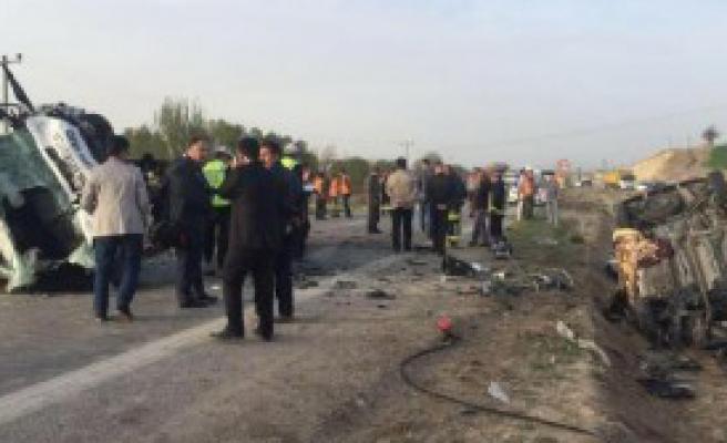 Konya'da Kaza: 4 Ölü