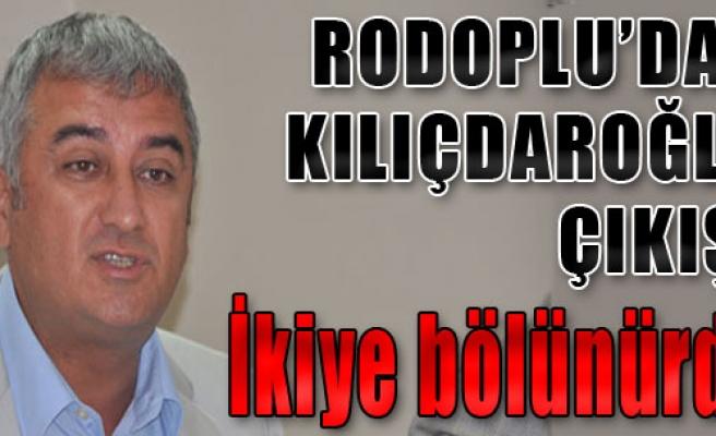 Rodoplu'dan Flaş Açıklama