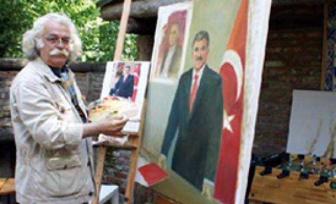 Meclis'in Son Ressamından Gül Portresi