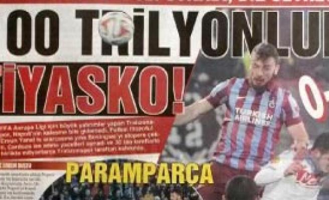 Trabzonspor'a Büyük Şok