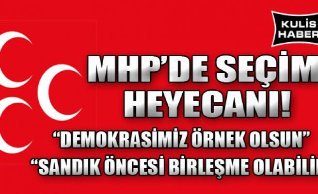 MHP İzmir Kongre Saatini Bekliyor