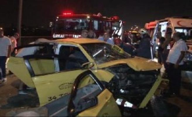 O Köprüde Trafik Kazası