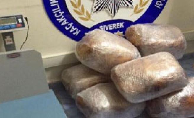 Siverek'te 94 Kilo Esrara 2 Gözaltı
