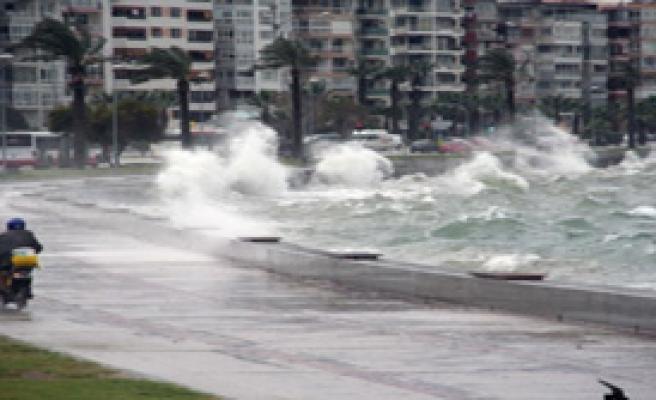 İzmirliler Dikkat Meteoroloji Uyardı!