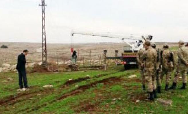 Siverek'te Kaçak Trafoya El Konuldu