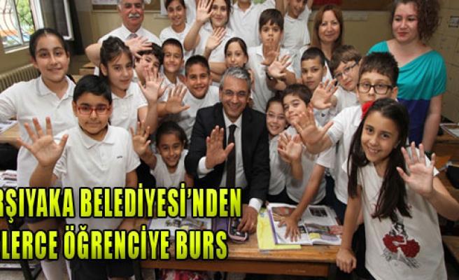 Karşıyaka Belediyesi'nden Yüzlerce Öğrenciye Burs