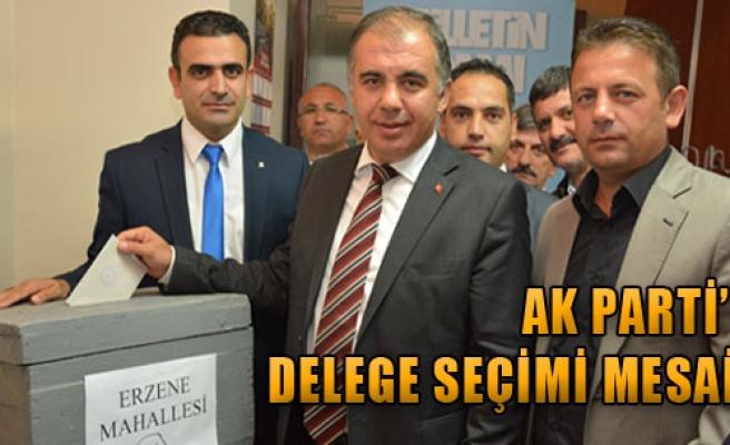 AK Parti'de Delege Seçimi Mesaisi