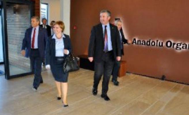 Böke, Anadolu OSB'yi Ziyaret Etti