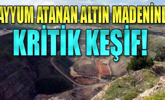 Kayyum atanan madende kritik keşif!