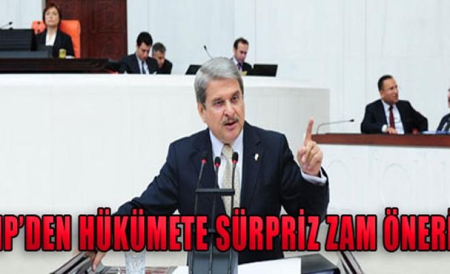 CHP'den Hükümete Sürpriz Zam Önerisi