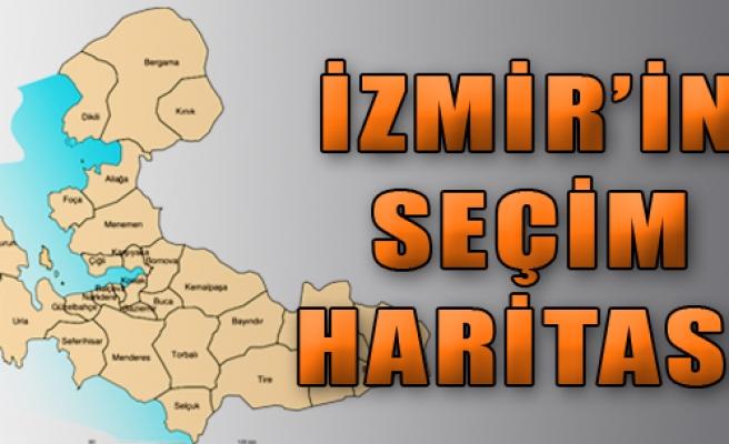 İzmir'in Seçim Haritası