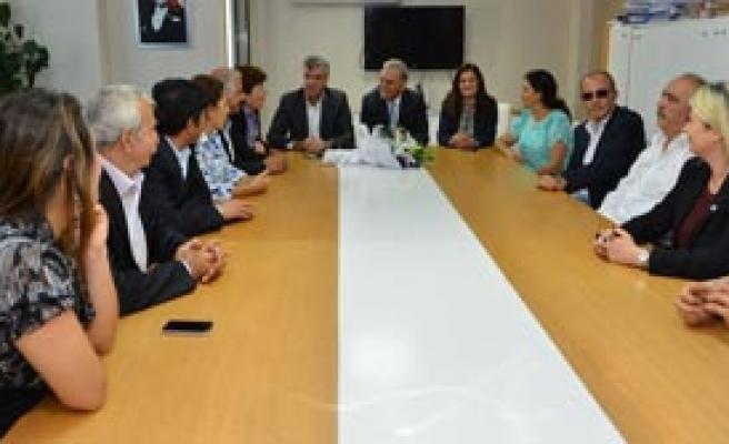 Kocaoğlu CHP'yi Ziyaret Etti!