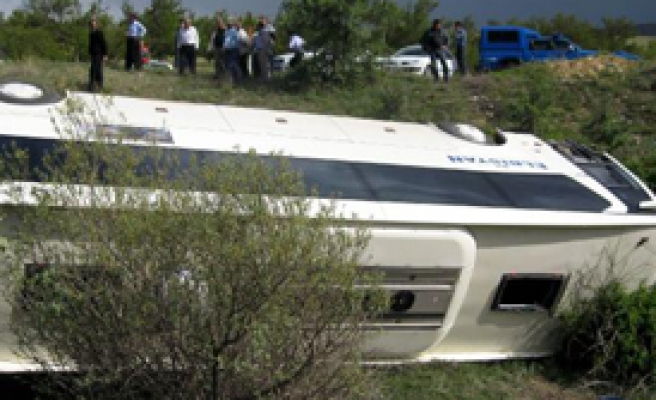 Malatya'da Kaza: 1 Ölü, 18 Yaralı