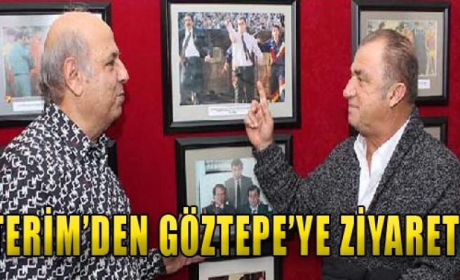 Fatih Terim Göztepe'de Hasret Giderdi