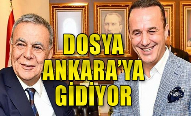O dosya Ankara'ya gidiyor