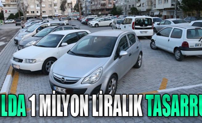 Karşıyaka'da Yılda 1 Milyon Liralık Tasarruf