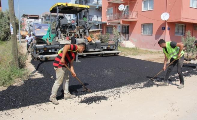 İlk asfalt atıldı... Başkan Soylu'dan İZSU'ya: Zulmünüz hiç unutulmayacak