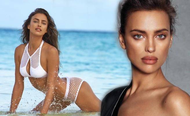 Irina Shayk'ın güzellik sırları...
