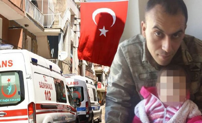 İzmir'e şehit ateşi düştü: Evli ve 1 çocuk babasıydı