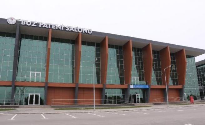 Karadeniz'in ilk buz sporları salonu, 23 Nisan'da açılıyor