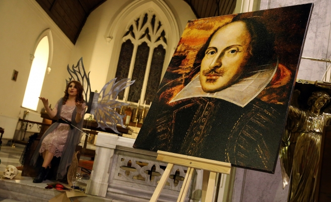 Kilisede Shakespeare anması