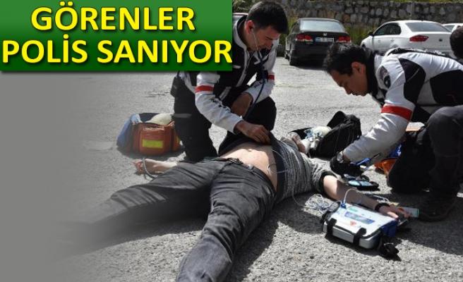 Motorize doktorlar İzmir'de görev başında