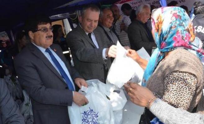 Nazilli'de 50 bin fide dağıtıldı