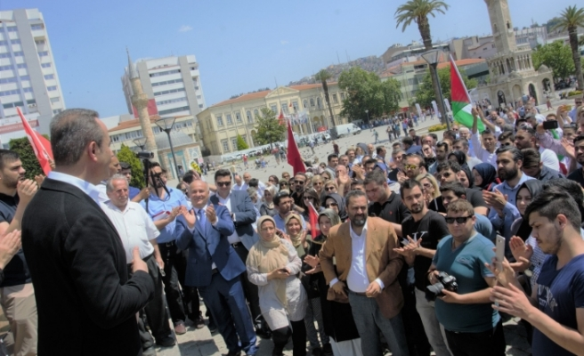 AK Parti İzmir'den Kudüs tepkisi
