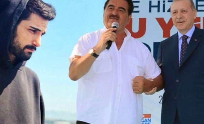 AK Parti İzmir'den aday olan Tatlıses'in oğlu İdo'dan olay paylaşım!